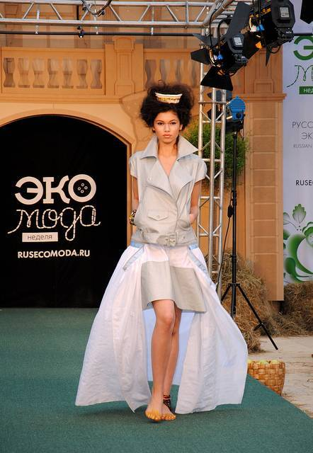 Eco Fashion Week (Неделя Экомоды) в Манеже