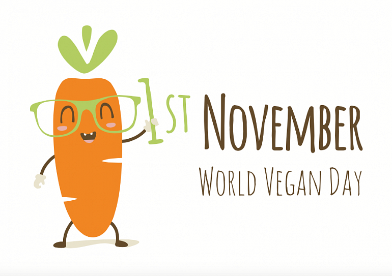 1 ноября – World Vegan Day