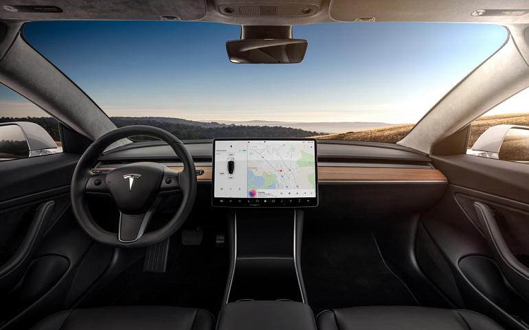 Tesla представила полностью веганский интерьер